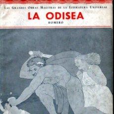 Livres anciens: HOMERO : LA ODISEA (IBERIA, 1932) EDICIÓN ILUSTRADA. Lote 252140885
