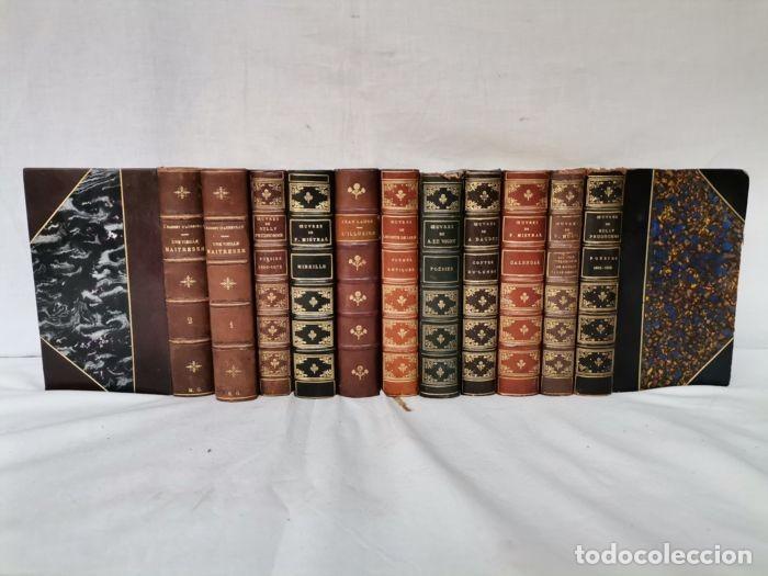 LOTE 12 LIBRO ED. ALPHONSE LEMERRE (Libros antiguos (hasta 1936), raros y curiosos - Literatura - Narrativa - Clásicos)