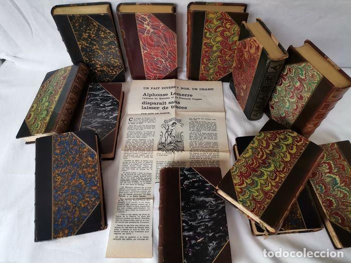 Libros antiguos: lote 12 libro ed. Alphonse Lemerre - Foto 8 - 252556230