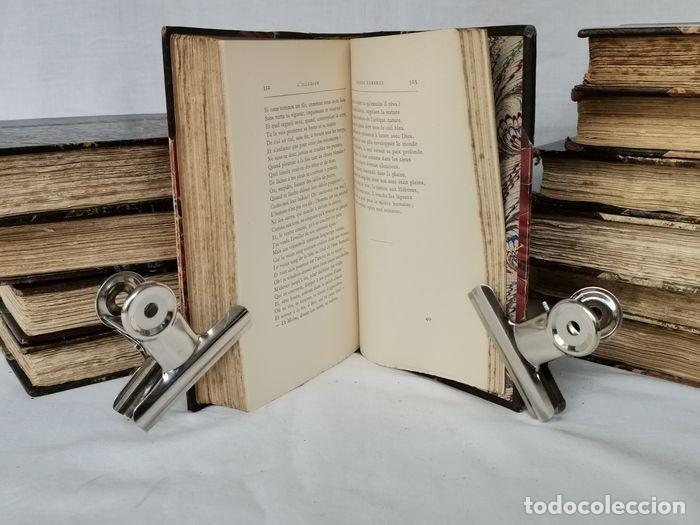 Libros antiguos: lote 12 libro ed. Alphonse Lemerre - Foto 13 - 252556230