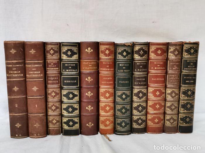 Libros antiguos: lote 12 libro ed. Alphonse Lemerre - Foto 17 - 252556230
