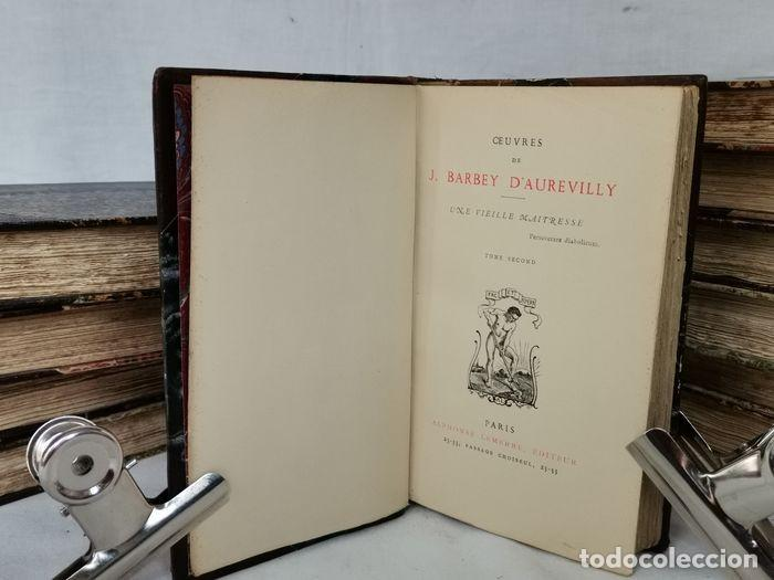 Libros antiguos: lote 12 libro ed. Alphonse Lemerre - Foto 20 - 252556230