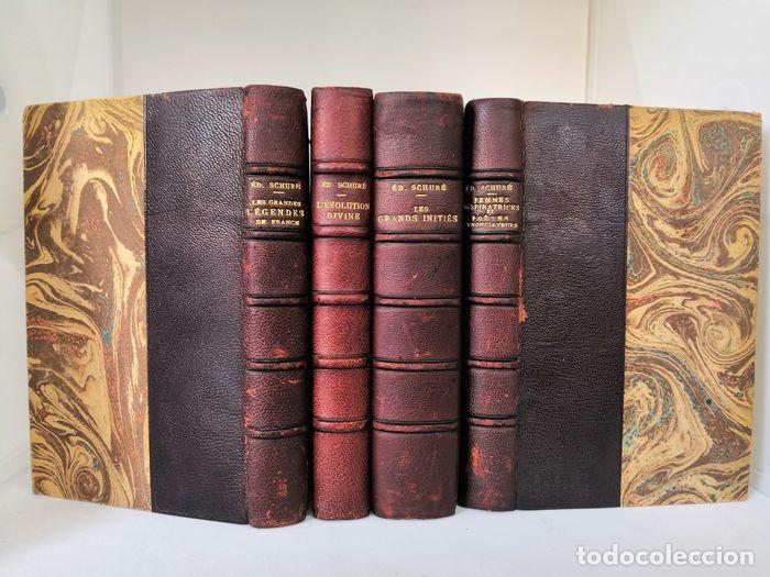 Libros antiguos: Oeuvres - Édouard Schuré - Foto 4 - 252631930
