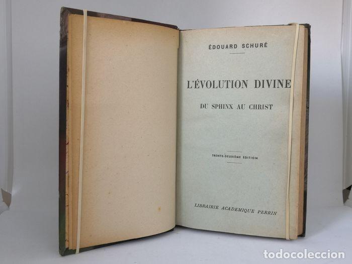 Libros antiguos: Oeuvres - Édouard Schuré - Foto 10 - 252631930