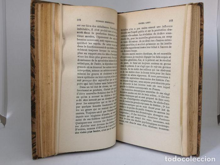 Libros antiguos: Oeuvres - Édouard Schuré - Foto 12 - 252631930