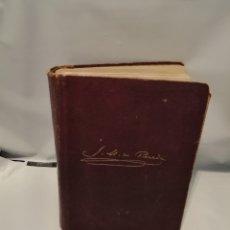 Libros antiguos: JOSÉ MARÍA DE PEREDA. OBRAS COMPLETAS (EN UN SOLO TOMO, LOMO SEMIDESPEGADO) PRIMERA EDICIÓN. Lote 252916540