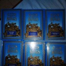 Libros antiguos: GRANDES CLASICOS DE LA NOVELA DE AVENTURAS. CLUB INTERNACIONAL DEL LIBRO. 6 TOMOS. Lote 254050470