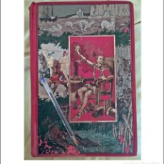 Libros antiguos: DON QUIJOTE DE LA MANCHA. ENORME VOLUMEN ILUSTRADO DEL SIGLO XIX. VER FOTOS.. Lote 254079515