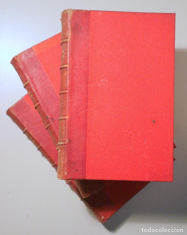 VERNE, JULES - ENFANTS CAPITAINE GRANT. VOYAGE AUTOUR DU MONDE (3 VOL. - COMPLETO) - PARIS C. 1890 (Libros antiguos (hasta 1936), raros y curiosos - Literatura - Narrativa - Clásicos)