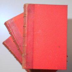 Libros antiguos: VERNE, JULES - ENFANTS CAPITAINE GRANT. VOYAGE AUTOUR DU MONDE (3 VOL. - COMPLETO) - PARIS C. 1890. Lote 254173645