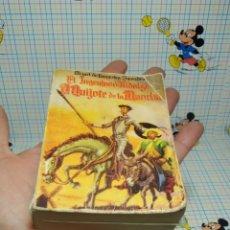Libros antiguos: PEQUEÑO LIBRO EL INGENIOSO HIDALGO D. QUIJOTE DE LA MANCHA 2 PARTE. Lote 254261550