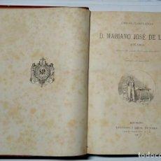Libros antiguos: ANTIGUO LIBRO 1886 OBRAS COMPLETAS DE MARIANO JOSÉ DE LARRA - FÍGARO GRABADOS LUIS PELLICER. Lote 254638765