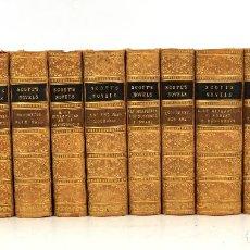 Libros antiguos: WALTER SCOTT'S NOVELS, 1862, SIR WALTER SCOTT, 12 TOMOS, ADAM AND CHARLES BLACK, EDINBURGH.. Lote 254698070