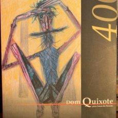 Libros antiguos: DON QUIJOTE. CERVANTES. ILUSTRACIONES DE CANDIDO PORTINARI - VARIOS AUTORES. Lote 254907895