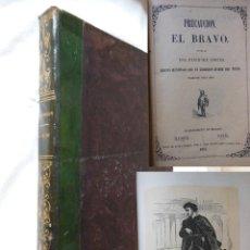 Libros antiguos: PRECAUCION. EL BRAVO. 2 NOVELAS EN UN SOLO VOLUMEN. 1853 FENIMORE COOPER. Lote 254929935