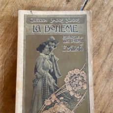 Libros antiguos: TOMO II LA BOHEME - ESCENAS DE LA VIDA BOHEMIA - ENRIQUE MURGER - 1901. Lote 259777320