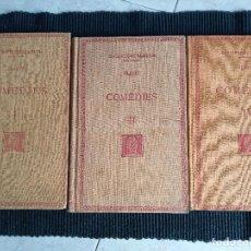 Libros antiguos: COMEDIES. PLAUTE. I II Y IV. BERNAT METGE, 1934,1935 Y 1936.. Lote 259946270