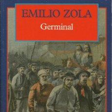 Libros antiguos: GERMINAL / E. ZOLA.. Lote 261284690