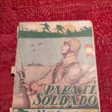 Libros antiguos: PARA TI SOLDADO MANUAL DEL SOLDADO 1957 MADRID SEPTIMA EDICION ACCION CATOLICA. Lote 261610540