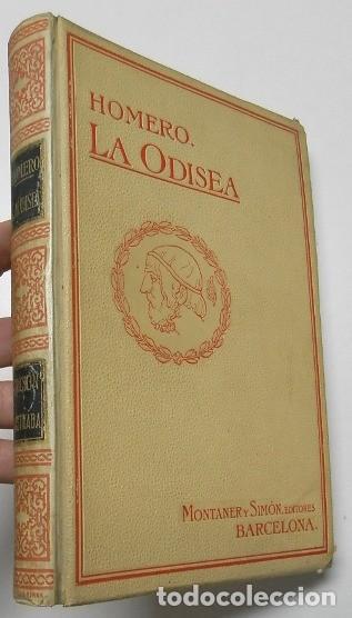 LA ODISEA - HOMERO (MONTANER Y SIMÓN, 1910) (Libros antiguos (hasta 1936), raros y curiosos - Literatura - Narrativa - Clásicos)