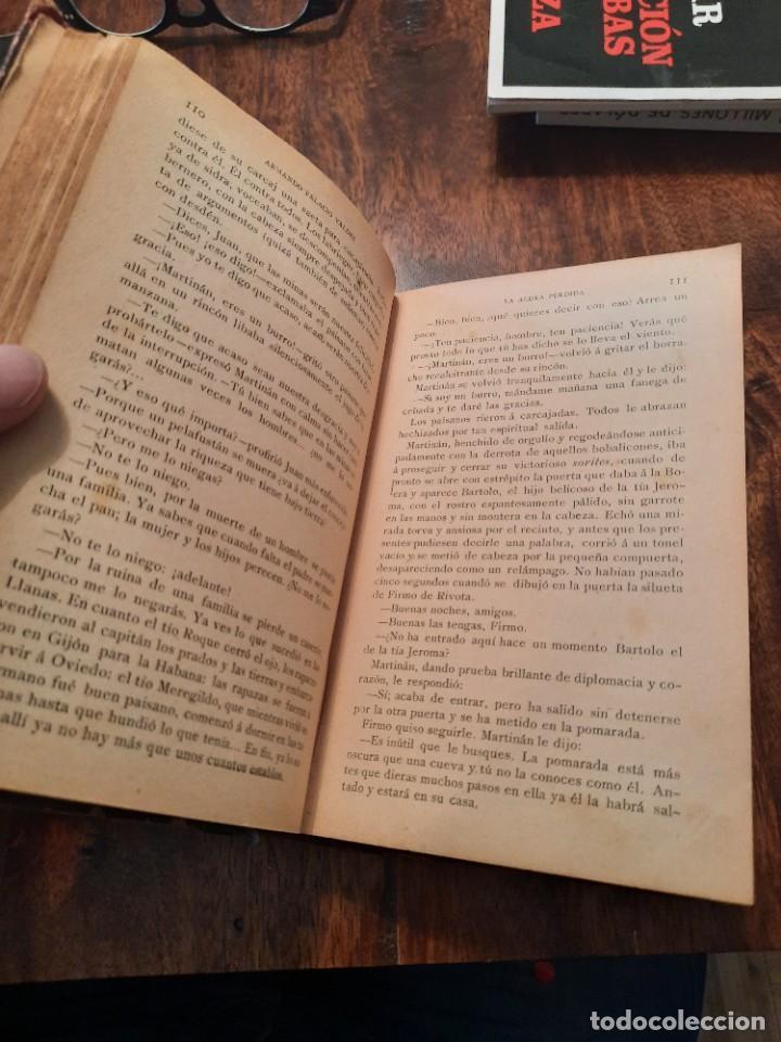 Libros antiguos: La aldea perdida, Armando Palacio Valdés - Foto 3 - 262126695
