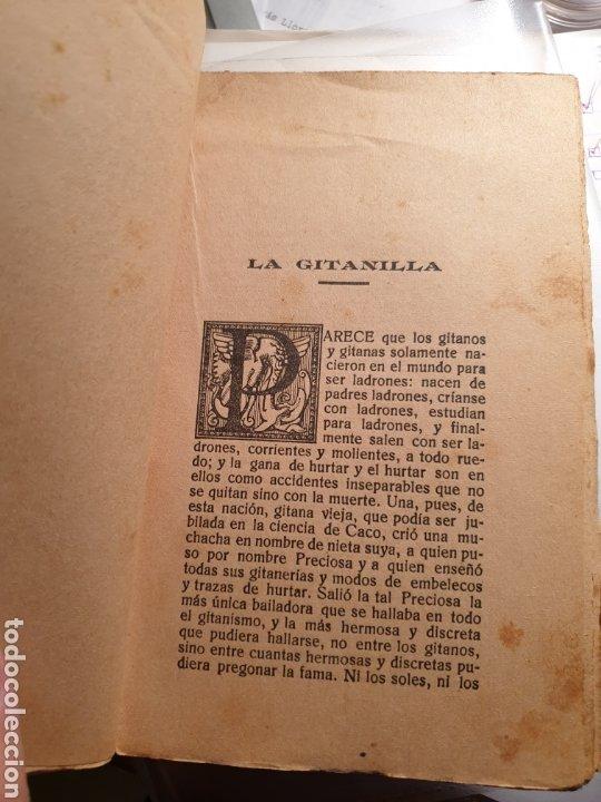Libros antiguos: La gitanilla - Cervantes - Biblioteca de Cultura popular - Edición especial ayuntamientos Casticismo - Foto 4 - 262147375