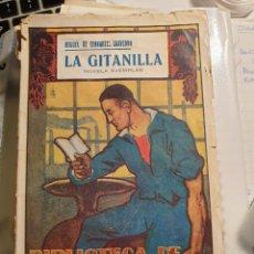 Libros antiguos: LA GITANILLA - MIGUEL DE CERVANTES SAAVEDRA - BIBLIOTECA DE CULTURA POPULAR. Lote 262147375