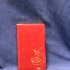 Libros antiguos: JUAN RAMON JIMENEZ PLATERO Y YO ALVAREZ ORTEGA ILUSTRACIONES AGUILAR PLENA PIEL EDICION LUJO 20X12C. Lote 262518495