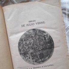 Libri antichi: OBRAS DE JULIO VERNE. CUATRO OBRAS COMPLETAS, 1868-1872. Lote 262673555