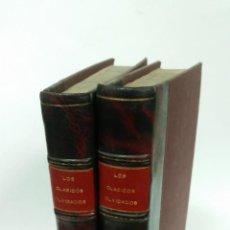 Libros antiguos: 1928 - BARTOLOMÉ JOSÉ GALLARDO - OBRAS ESCOGIDAS. 2 TOMOS, LOS CLÁSICOS OLVIDADOS. Lote 262808560