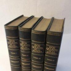 Libros antiguos: 1920 - MIGUEL DE CERVANTES - DON QUIJOTE DE LA MANCHA - 128 LÁMINAS, SOCIEDAD INTERNACIONAL. Lote 263002685