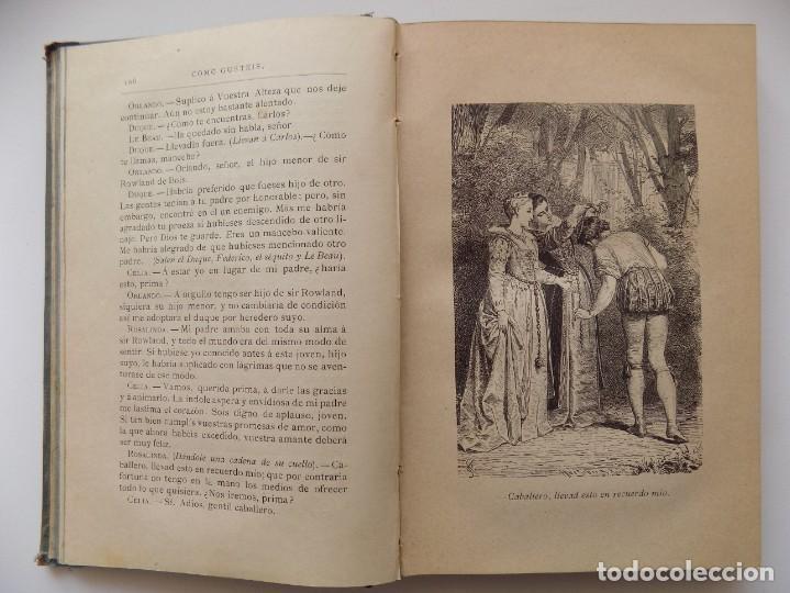 Libros antiguos: LIBRERIA GHOTICA. EDICIÓN LUJOSA DE LOS DRAMAS DE SHAKESPEARE. 1883. ILUSTRADO CON GRABADOS. - Foto 3 - 263028485