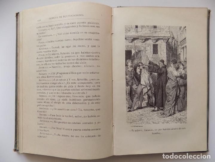 Libros antiguos: LIBRERIA GHOTICA. EDICIÓN LUJOSA DE LOS DRAMAS DE SHAKESPEARE. 1883. ILUSTRADO CON GRABADOS. - Foto 5 - 263028485