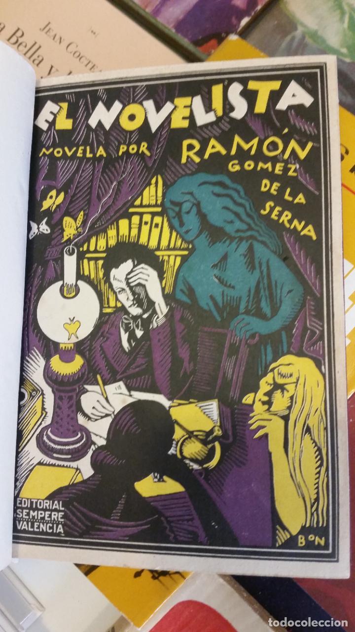 Libros antiguos: 1923 - RAMÓN GÓMEZ DE LA SERNA - EL NOVELISTA - PRIMERA EDICIÓN - Foto 2 - 263164995