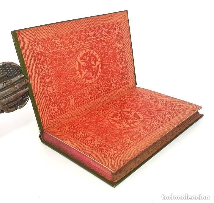Libros antiguos: 1900 - Baronesa de Brackel: Nora - Precioso Libro Modernista Ilustrado con Grabados - Foto 4 - 263229705