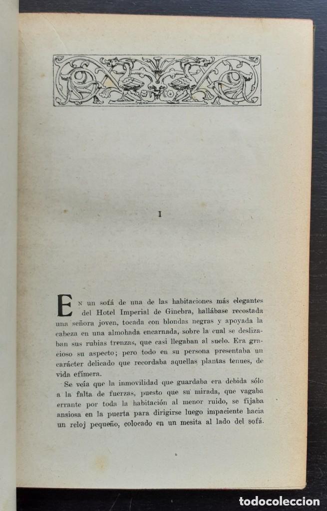 Libros antiguos: 1900 - Baronesa de Brackel: Nora - Precioso Libro Modernista Ilustrado con Grabados - Foto 6 - 263229705