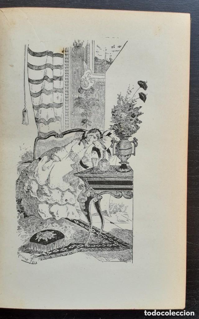 Libros antiguos: 1900 - Baronesa de Brackel: Nora - Precioso Libro Modernista Ilustrado con Grabados - Foto 7 - 263229705
