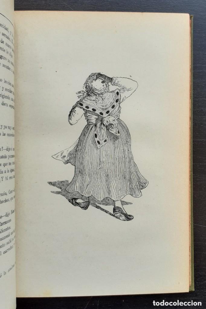Libros antiguos: 1900 - Baronesa de Brackel: Nora - Precioso Libro Modernista Ilustrado con Grabados - Foto 9 - 263229705