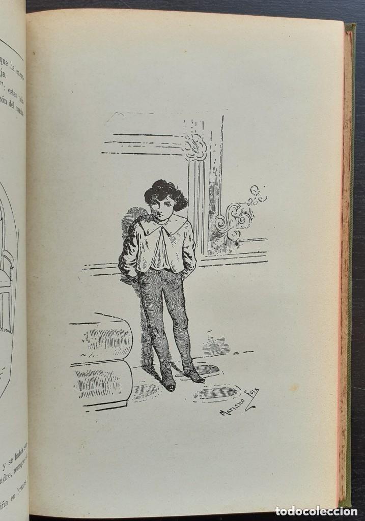 Libros antiguos: 1900 - Baronesa de Brackel: Nora - Precioso Libro Modernista Ilustrado con Grabados - Foto 10 - 263229705