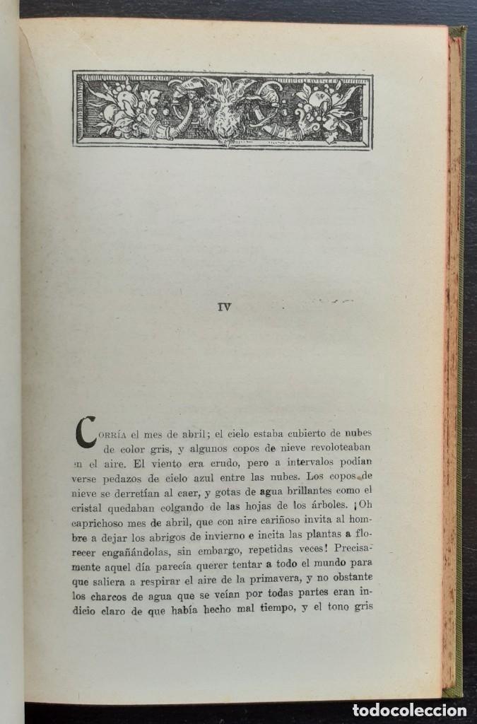 Libros antiguos: 1900 - Baronesa de Brackel: Nora - Precioso Libro Modernista Ilustrado con Grabados - Foto 11 - 263229705