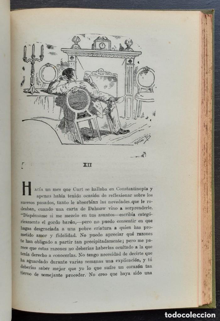 Libros antiguos: 1900 - Baronesa de Brackel: Nora - Precioso Libro Modernista Ilustrado con Grabados - Foto 13 - 263229705