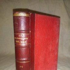 Libros antiguos: LOS TRABAJADORES DEL MAR - AÑO 1906 - VICTOR HUGO - PIEL.. Lote 263554265
