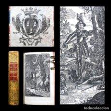 Libros antiguos: AÑO 1757 DON QUIJOTE DE LA MANCHA 7 GRABADOS A PLENA PÁGINA QUIXOTE MIGUEL DE CERVANTES EX-LIBRIS. Lote 263607330