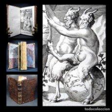 Libros antiguos: AÑO 1695 SÁTIROS NOVELAS ESPAÑOLAS PRÁCTICA Y COMERCIO DEL AMOR SCARRON GRABADO NINGUNO EN ESPAÑA. Lote 263607795