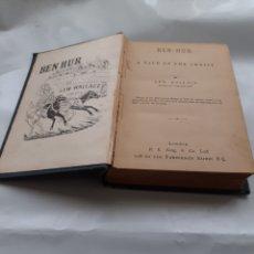 Libros antiguos: BEN HUR, LEW WALLACE, EN INGLÉS . C. 1900. Lote 263645605