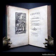 Libros antiguos: AÑO 1779 LIBRO PROHIBIDO EROTISMO EL DECAMERÓN DE BOCCACCIO 11 GRABADOS DE GRAVELOT PRIMERA EDICIÓN. Lote 264105015