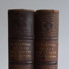 Libros antiguos: EL INGENIOSO HIDALGO DON QUIJOTE DE LA MANCHA. EDICIÓN FACSÍMIL. 1897. Lote 264448159