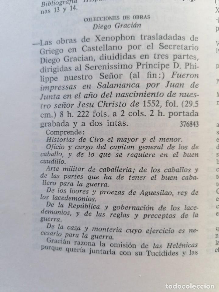 Libros antiguos: LAS OBRAS DE XENOPHON TRASLADADA DEL GRIEGO AL CASTELLANO DIEGO GRACIAN JUAN DE JUNTA SALAMANCA 1552 - Foto 10 - 265105989