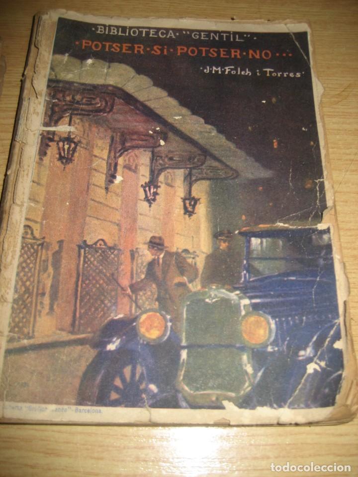 Libros antiguos: Linfant que no sap son nom 1921 potser si potser no Josep Mª Folch i Torres autografo y dedicatoria - Foto 16 - 265769634