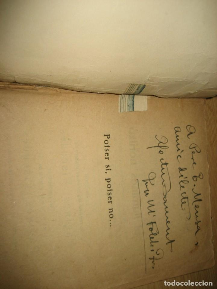Libros antiguos: Linfant que no sap son nom 1921 potser si potser no Josep Mª Folch i Torres autografo y dedicatoria - Foto 19 - 265769634